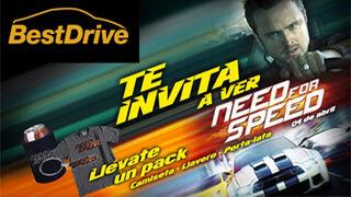 BestDrive sortea en Facebook entradas para Need for Speed
