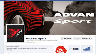 Yokohama Iberia se estrena en redes sociales
