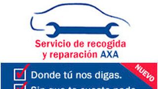Axa presenta su servicio de recogida y reparación de vehículos