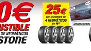 First Stop, hasta 40 euros en gasolina por comprar cubiertas