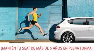 Talleres Seat, precios especiales para coches de más de cinco años