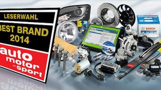 Bosch, Best Brand 2014 de productos de automoción según usuarios