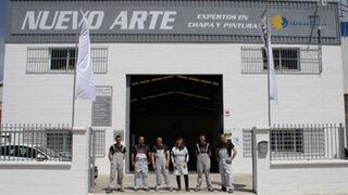 El taller Nuevo Arte Chapa y Pintura ficha por Identica
