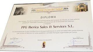 PPG, distinguida por su compromiso con la formación