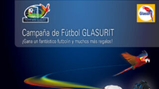 Glasurit regala un futbolín, camisetas y balones en Facebook