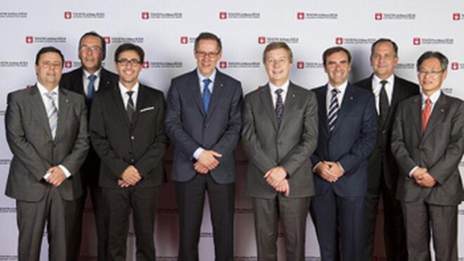 Toyota Motor Europe distingue a tres concesionarios españoles