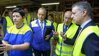 80 años de la fábrica de Michelin en Lasarte-Oria (Guipúzcoa)