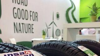 Insa Turbo exhibió sus neumáticos renovados en la feria alemana de Reifen