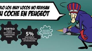 Peugeot lanza una campaña de mantenimiento para el verano