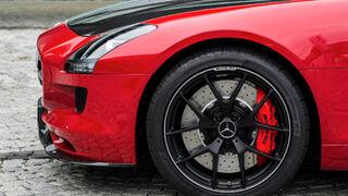 Sport Maxx Race de Dunlop, en el Mercedes SLS AMG GT Final Edition