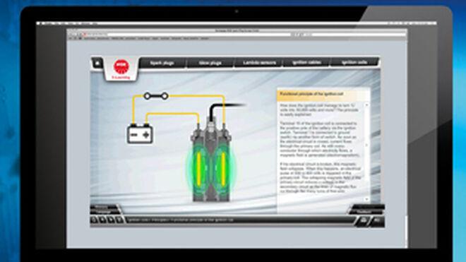 NGK amplía su plataforma de elearning con bobinas de encendido