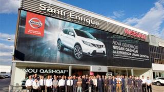 Nissan premia a sus tres mejores concesionarios de 2013