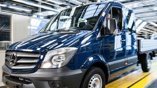 Las matriculaciones de vehículos comerciales crecen en junio el 18%