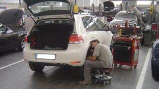 La cifra de negocio de los talleres andaluces cayó el 12% en 2013