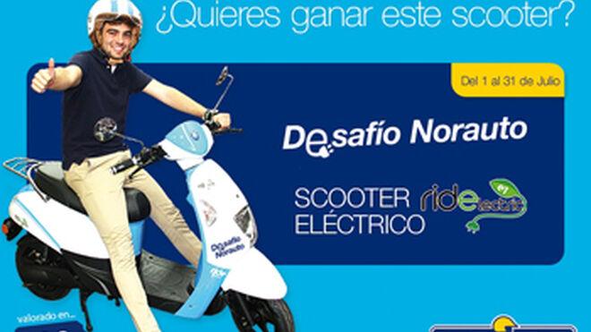 Norauto sortea una scooter eléctrica en Facebook