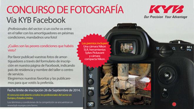 KYB presenta su primer concurso para talleres en Facebook