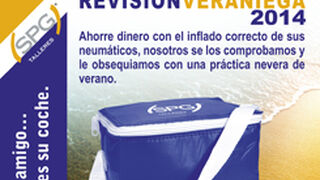 SPG Talleres regala neveras por revisar neumáticos