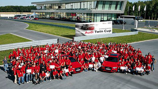 Audi Twin Cup reunió a 219 mecánicos en su fase final