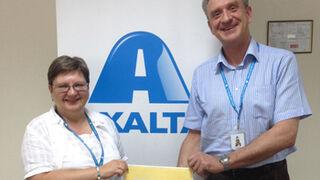 Axalta recibe el premio a la Mejor Empresa en Rusia