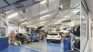 EuroTalleres renuevan su iluminación con leds Philips