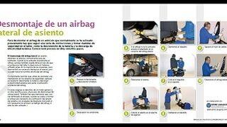 Desmontaje de un airbag lateral de asiento