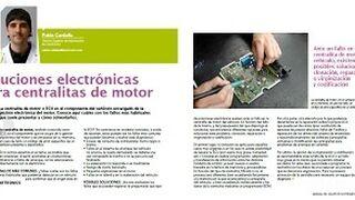 Soluciones electrónicas para centralitas de motor