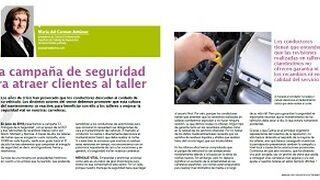 Una campaña de seguridad para atraer clientes al taller