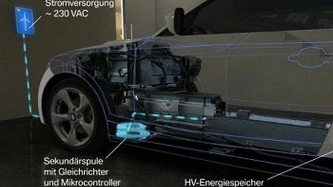 BMW crea la carga por inducción para híbridos y eléctricos