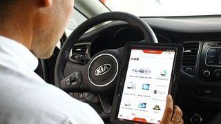 Kia Canarias estrena sistema de diagnosis mediante tablet