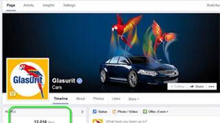 Glasurit alcanza los 12.000 seguidores en Facebook