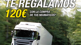 Goodyear regala hasta 120€ por comprar neumáticos de camión