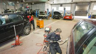 La rebaja de las pólizas de seguros reduce el 23% las reparaciones