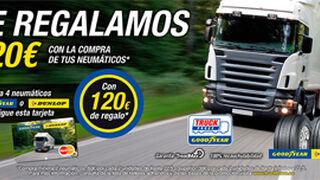 TruckForce regala hasta 120 euros por cambiar cubiertas