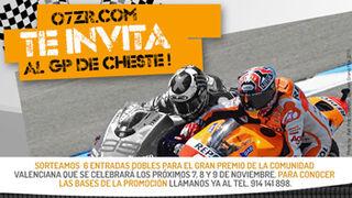 07ZR.com sortea entradas para Moto GP
