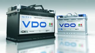 VDO presenta sus nuevas baterías Start-Stop