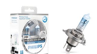 Philips WhiteVision, lámparas con hasta el 40% más de luz blanca