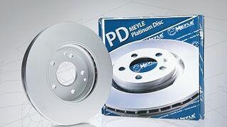 Meyle lanza el Platinum Disc con recubrimiento de pintura UV