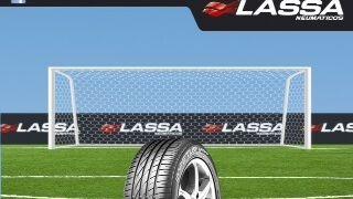 Brisa promocionará los neumáticos Lassa en el Vicente Calderón