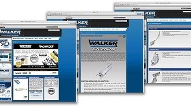 Walker lanza nueva web con herramientas de soporte técnico