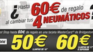 First Stop regala hasta 60 euros por cambiar neumáticos