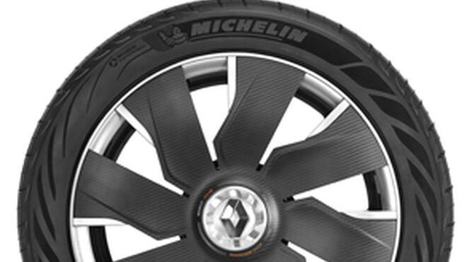 Michelin presenta el neumático que se regenera