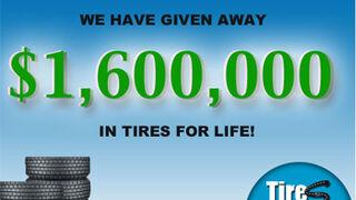 Concesionario de EE.UU. regala ruedas de por vida por revisiones