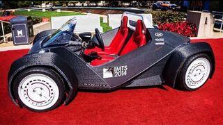 Primer viaje de un coche fabricado con una impresora 3D