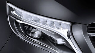 Hella introduce luces led en el Mercedes-Benz Clase V