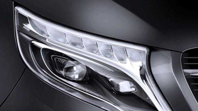 Hella introduce luces led en el Mercedes-Benz Clase V