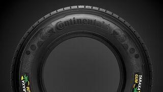 Taraxagum, neumáticos de caucho de diente de león de Continental