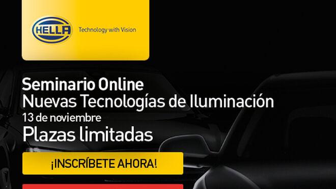 Seminario online de nuevas tecnologías de iluminación de Hella