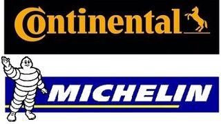 Continental y Michelin, los mejores neumáticos para la OCU