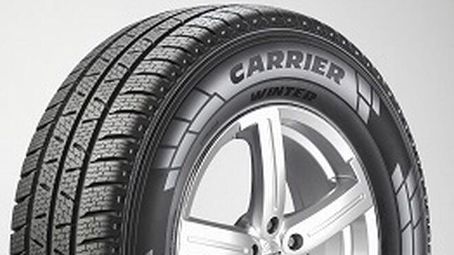 Carrier Winter, versión invernal del neumático de furgoneta de Pirelli
