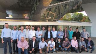 Distribuidores BDT, en la central de equipos de taller de Bosch